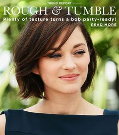 "<p>The word ""bob"" invokes images of a sleek professional, manicured haircut, but there's been an influx of piece-y, textured versions on the red carpet—leading us to take a second look at the typically conservative chop.</p>"