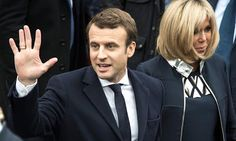 Emmanuel Macron sworn in as President of France