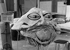 Behind the scenes on Star Wars The Return of the Jedi.