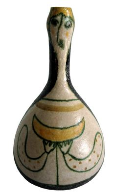 GUIDO GAMBONE Italian Art Deco Bottle Vase