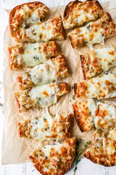 French Bread Pizza, Stuffed French Bread, Side Dishes Easy, Main Dishes, Savory Bread Recipe, French Onion, Vegan Vegetarian, Vegetarian Recipes, Melted Cheese