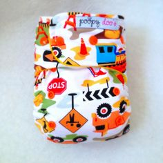Dig It Construction AI2 :: Poopy Doo Cloth Diapers & More Online Shop