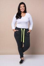 Shop Plus Size Pants, Slacks, Trousers & Joggers − G-Stage