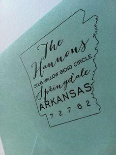 custom return address stamps