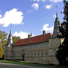 Westerwinkel Moated Castle, Ascheberg, Muensterland, Germany