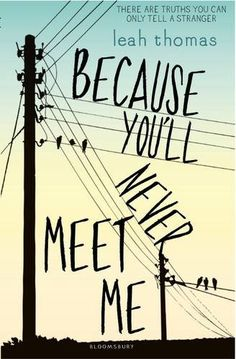 Because You'll Never Meet Me by Leah Thomas http://www.amazon.co.uk/dp/140886262X/ref=cm_sw_r_pi_dp_gnD5vb0D0QTDC