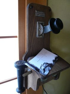 old telephone, vintage, retro