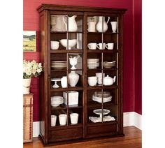 Garrett Glass Cabinet