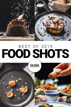 Food Photography Inspiration for delicious savory & sweet dishes. Restaurant, Food Photography, Dishes, Breakfast, Sweet, Inspiration, Food Food, Morning Coffee, Candy