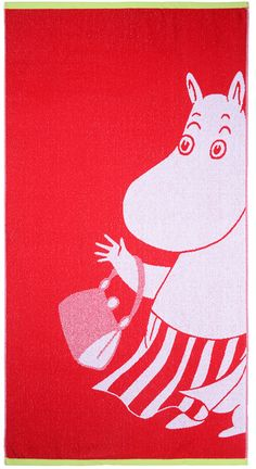 Moominmamma bath towel red 70 x 140 cm by Finlayson - The Official Moomin  Shop - 1 9bb66e9818