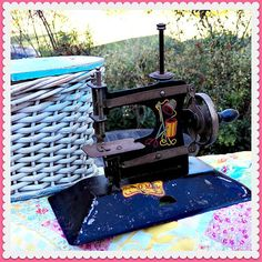 Very Early Vintage SEWOMATIC Child's Sewing by ASentimentalJourney, $45.00