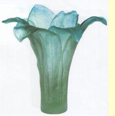 Daum Amaryllis Vase