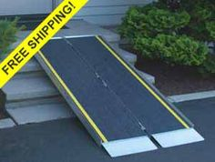 Portable Suitcase Ramps  http://www.portable-wheelchair-ramps.com/portable-ramps/advantage-suitcase-ramps.aspx