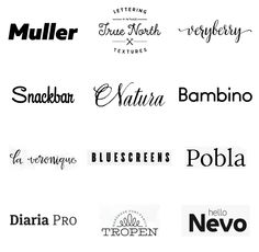 Best Fonts of the 2014