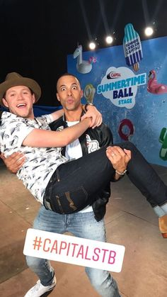 June 10: Niall at Capital FM's Summertime Ball with Marvin Humes