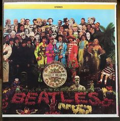 Beatles Sgt Peppers VINYL 1st Press CAPITOL+INSERT EX/EX 1967 PLAY TESTED RARE #BritishInvasion