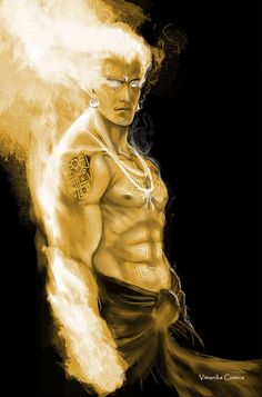 (karna) Son of lord sun !!!  by vimanika comics !!!