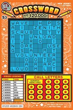 how to play crossword scratchers