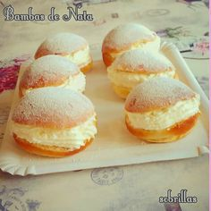 No Bake Desserts, Dessert Recipes, Bread Shaping, Sweet Cooking, Pan Dulce, Latin Food, Food Themes, Donuts, Cupcake Cakes