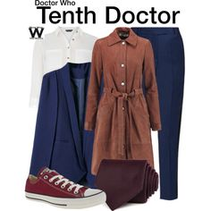Inspired by David Tennant as the Tenth Doctor on Doctor Who