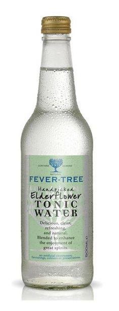 """Jetzt auch noch Fever Tree? Dank """"handgepflückter Holunderblüten"""" schwimmt das Tonic mit auf der Elderflower-Welle. Wie schmeckt die Bitterlimonade?  #gin #tonic Check: http://mixology.eu/drinks/fever-tree-elderflower-tonic/"""