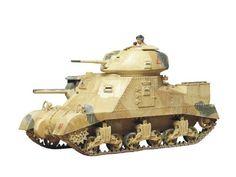 Tamiya 1/35 British Army Tank M3 Grant