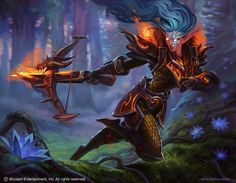 Saving Wow Tcg images for some ideas