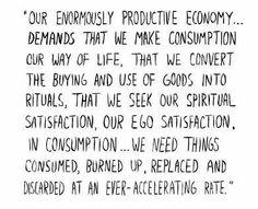 Consumerism sucks