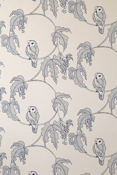 Owlet Wallpaper from Turner Pockock Cazalet | Made By Turner Pocock Cazalet | £72.00 | Bouf