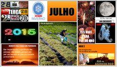 JORNAL O RESUMO - BOM DIA - CALENDÁRIO: Dia 28 de julho de 2015