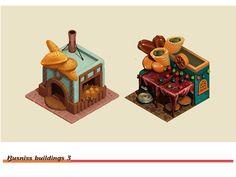 Elmadina (Buildings) on Behance § Find more artworks: www.pinterest.com/aalishev/pins