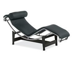 Pierre Leather Chaise - Chaises & Studio Sofas - Living - Room & Board