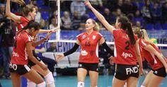 Felicitari fetelor! Dinamo Krasnodar - Alba Blaj 0-3 Prima victorie in #clvolleyw #ourgirls #hairomania #volei #volleyball #blaj #voleiblaj #frvolei #romania