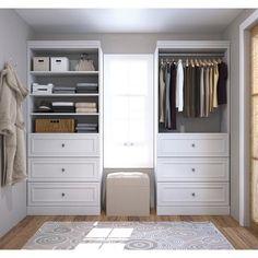 Closet Storage Systems, Closet System, Closet Organization, Storage Units, Storage Center, Organizing Drawers, Laundry Organizer, Bedroom Closet Design, Master Bedroom Closet