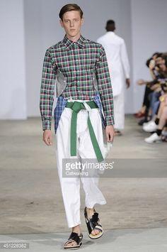 green shirt catwalk - Google Search