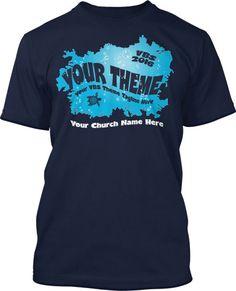 Deep Sea Reef Submerged VBS 2016 T-Shirt Design #16120