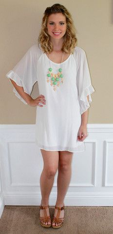 white dress, cute, formal, bride, shower, graduation, outfit, fashion, ootd, lotd, dressy, girly, glam, boutique, summer