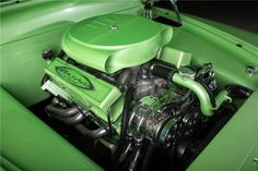 "1950 MERCURY CUSTOM COUPE ""WASABI"" - Engine - 197205"