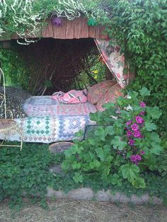 My girlfriend, Toni, has the most amazing garden...