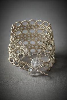 Intricate beaded bracelet