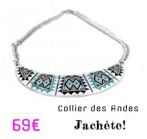 Bijoux du monde - world jewelry chez bijouxcherie.com collier ethnique chic et mode fashion necklace.