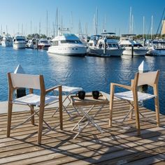 5 piece Odyssey Chairs and Ottoman Tray Table Set | Westminster Teak Outdoor Kitchen Plans, Outdoor Kitchen Countertops, Teak Outdoor Furniture, Patio Furniture Sets, Wooden Furniture, Chair And Ottoman Set, Ottoman Tray, Westminster Teak, Fire Pit Patio