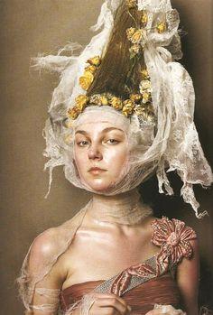 "Steven Meisel, ""Couture Magic"", Vogue Italia Supplement March 2005"