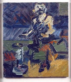 Frank Auerbach | J.Y.M Seated in the Studio V | 1988