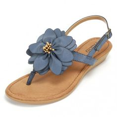Beautiful blooming sandals that add character and interest to your feet!  Rialto Shoes Galina Blue Sandal Rialto https://www.rialtoshoes.com/rialto-by-white-mountain-shoes-shop-all-styles/rialto-by-white-mountain-shoes-wedges-and-sandals/rialto-shoes-galina-blue-sandal.html