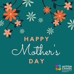 Autism Canada would like to take this opportunity to wish you a very joyful and relaxing Mother's Day. Know that your daily unconditional #love work #dedication and #advocacy are appreciated and make a world of difference to your loved ones. Additionally #thankyou for your engagement in #AutismCanada's national initiatives; your support and input is incredibly valuable to us.  May you enjoy this #appreciation and love each and every day.  #autism #asd #aspergers #spectrum #mom #mother…