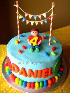 Balloon Theme Cake