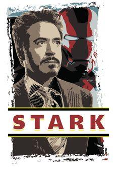 This was an image I created in #Illustrator. #tonystark #ironman #stark @marvel