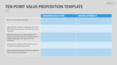 Value Proposition Powerpoint Template  Presentations