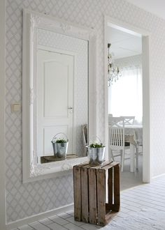 Happy House, Scandinavian Home, Modern Country, Cozy House, New Homes, Indoor, House Design, House Styles, Wallpaper